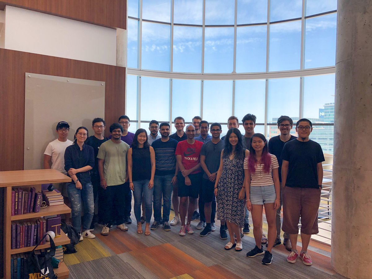 2019 class of ML PhD students